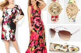 Plus Size Floral Fashion Trend 2015 (1)