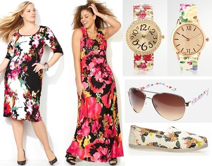 Plus Size Floral Fashion Trend