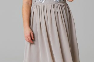 45 Plus Size Wedding Guest Dresses {with Sleeves} - Plus Size Cocktail  Dresses -