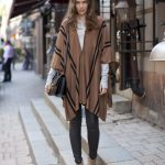 Poncho Street Style Looks (16)
