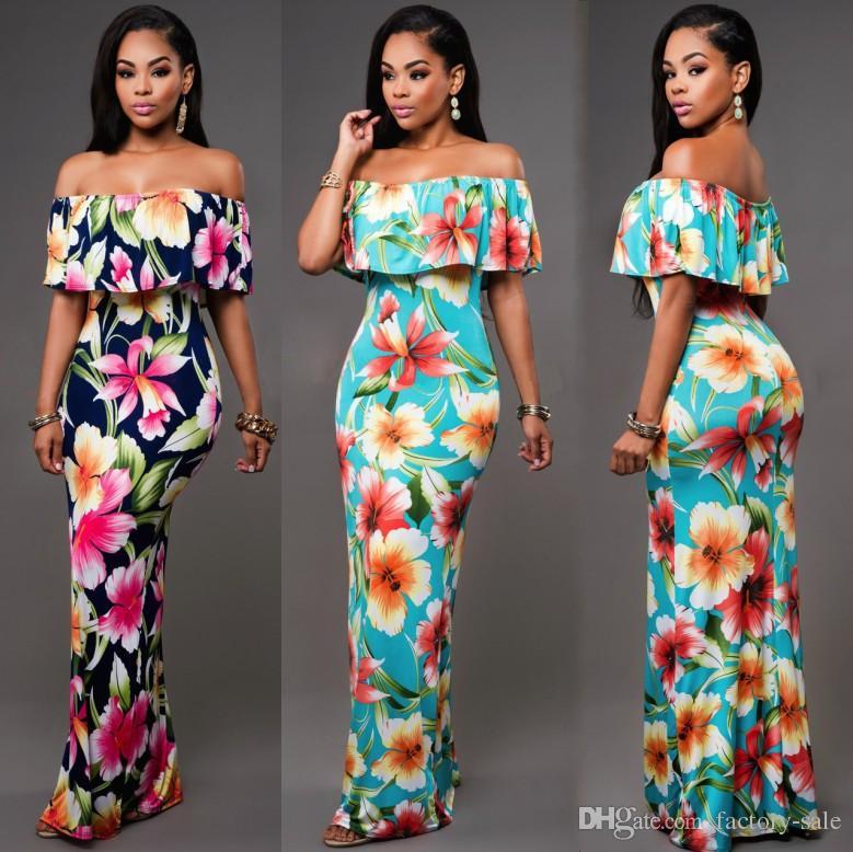 Printed Summer Maxi Dresses