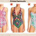 Laundry by Shelli aundry by Shelli Segal Mayan Escape Cutout One-Piece //  Trina Turk Africana Crossback One-Piece // Tory Burch Garden Party One-Piece