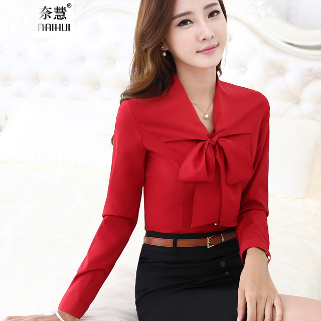 Red Blouses And Tops For Women
