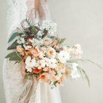 romantic fall wedding flowers