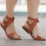 Leather Sandals, Flat Sandals, Greek Sandals, Women Sandals, Summer Shoes,  Flats, Handmade Free Shipping