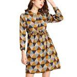 Ashir Aley Womens Plaid Dress Knee Length Button Down Shirt Dresses for  Women Midi Tunic Dresses