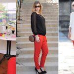"By Kanika Kothari | September 30, 2016. featuredImage FashionLady  FashionLady. What to Wear With Red Pants. """