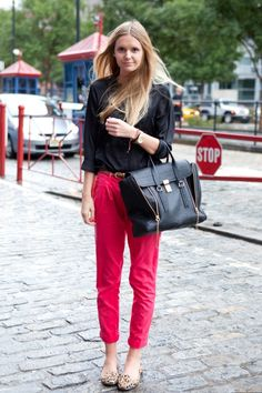 Shoes To Wear With Red Pants
