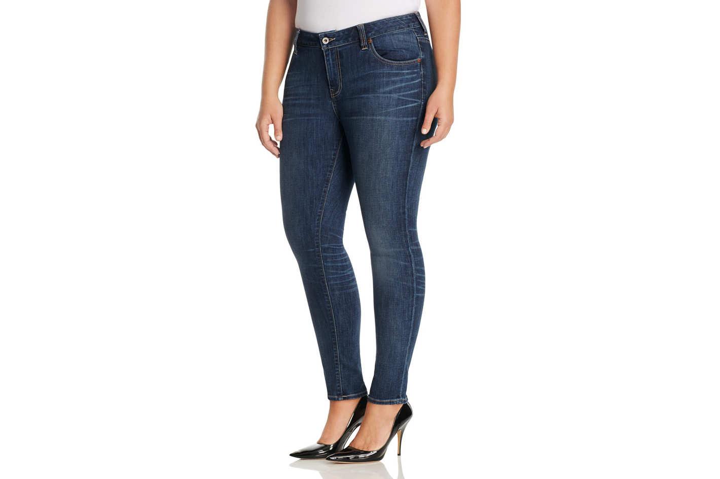 Skinny Jeans for Curvy Women
