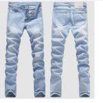 2019 Good Quality Light Blue Skinny Jeans Men Spring Summer Slim Denim Jeans  Men Cotton Elastic Denim Pants Cowboy Trousers From Sikaku, $24.58 |  Traveller Location