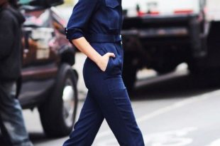2 Casual Cool Ways to Wear a Utility Jumpsuit via @WhoWhatWear