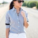 How to style a bold striped shirt for summer - Visit Traveller Location for  more