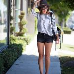 How To Wear Striped Shirts For Summer (7)