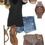 Perfect and Casual Summer Outfit Combination