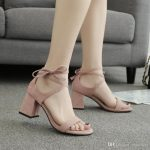 Hot Summer Sandals Lady Dress Shoes Women Pumps Heels Suede Open Toe Chunky  High Heels Festival Party Shoes Formal Pumps Sandals W17S018 Silver Sandals  Gold
