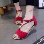 Image is loading 2018-Women-Summer-Fashion-Sandals-Casual-Women-Open-