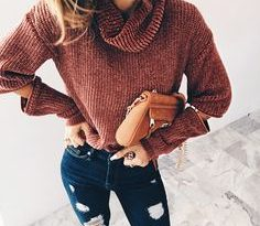 fall fashion sweater weather Cute Sweaters For Fall, Winter Sweaters, Fall  Winter, Autumn
