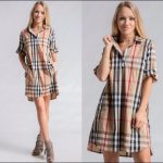 LAST ONE Brit-Style Plaid Dress- BUY NOW