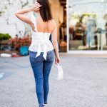 Sydne Style shows tops with bows for summer outfit ideas