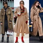 Trench coats. Photos: Chiara Marina Grioni/Fashionista (2), Imaxtree (