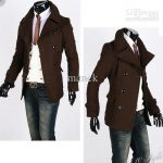Mens Double Breasted Jackets Winter Trench Coat Mens Jackets and Coats  #MS181