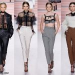 Pants Fall/Winter 2017-2018 Fashion Trends - black, white, gray and