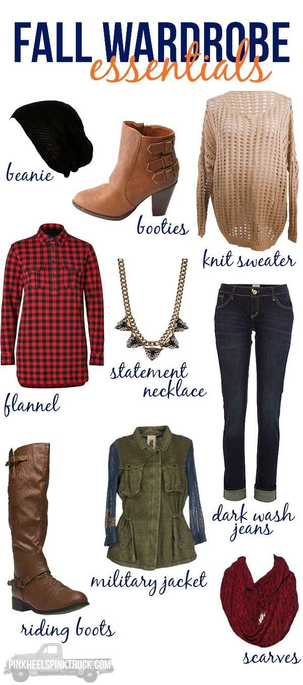 Wardrobe Essentials For Fall Season