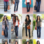 Bootcut Jeans Outfits