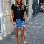 Denim Shorts - Chic Street Style Looks (5)
