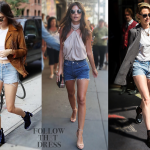 For the last fifty-plus years, denim cutoffs have been a summer staple for  everyone. The DIY shorts have been back in full force the last couple of  years as