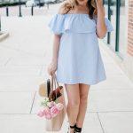 how wear off shoulder dress