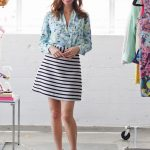 Sydne-Style-how-to-wear -florals-a-z-trend-guide-spring-summer-2014-trends-video-lovers-friends-shirt- striped-skirt-mixed-prints