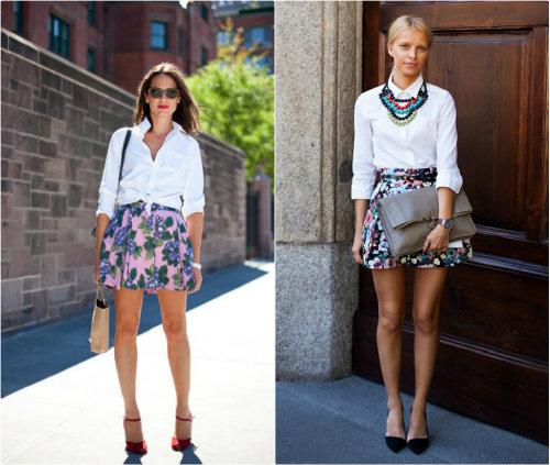 Ways To Wear White Blouses