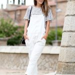3 Le Fashion Blog 17 Ways To Wear White Overalls Mirrored Sunglasses White  Birkenstock Sandals Via