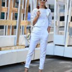 How to Wear White Overall