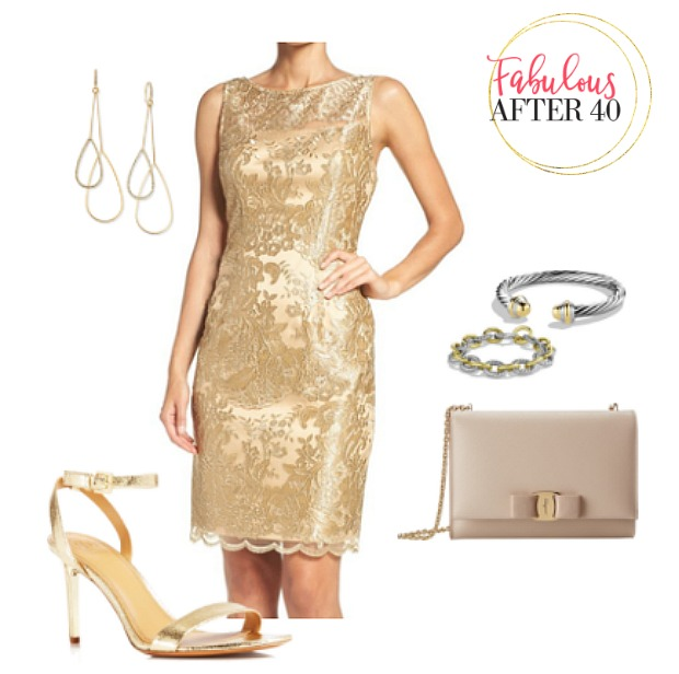 What Color Shoes Go With Metallic Dresses