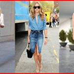How to Wear Denim Skirts for Summer
