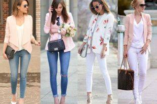 pink pastel blazers styles,
