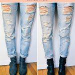 what NOT to wear with boyfriend jeans #boyfriendjeans