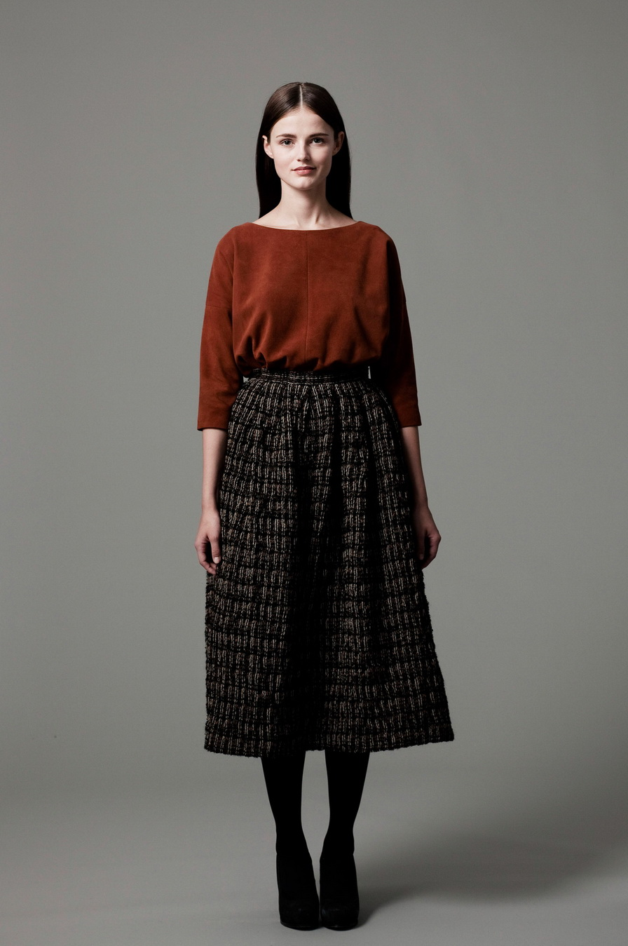 What Skirts Are In Style For Fall-Winter 2014-2015 (2)