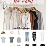Paris Packing List, What to Take for Paris, What to Wear in Paris in
