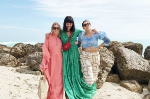 This Is What Fashion Girls Wear to the Beach
