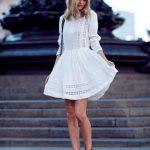 Little White Dresses - Street Style Looks (1)