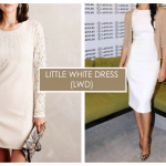 How to Wear White - Little White Dress
