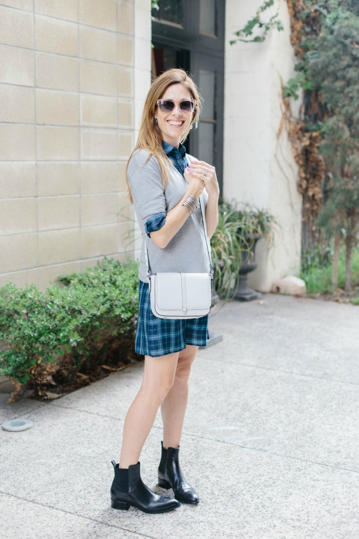 Three Ways to Style Your plaid shirtdress on Art in the Find   shirtdress  outfits  