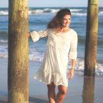 pier pictures in a lwd, lwd, little white dress, sammy dress, beach