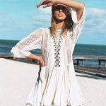 dress white dress white cover white cover up style fashion lace dress white  lace dress beach