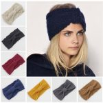 winter adult crochet knitted headbands for hair head band turban headband  head wrap turbante accessories women