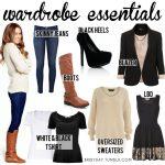 winter wardrobe essentials for women - Google Search