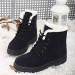 Costbuys Women Boots Winter Boots Women Warm Fur Ankle Boots For Women Warm Winter  Shoes Botas